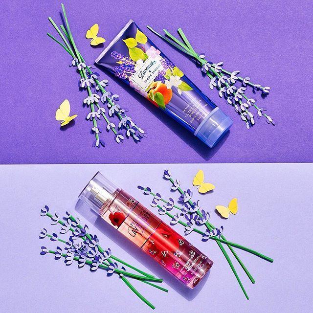 bathandbodyworks: #LavenderandSpringApricot vs #FrenchLavenderandHoney: show your favorite #lavender some ! #HappySpring