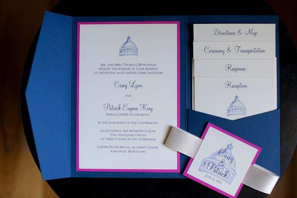 Military Wedding Invitations Abby Grace Photography