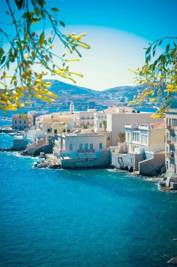 Vaporia district, Ermoupoli, Syros island, Cyclades, Greece