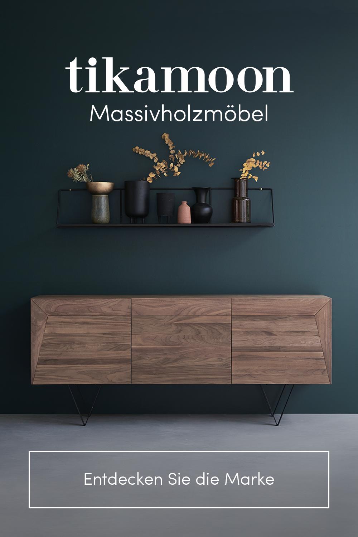 Tikamoon, Möbel aus Holz