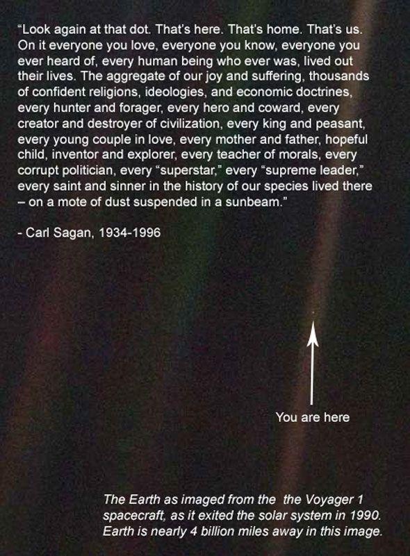 Carl Sagan You Are Here Carl Sagan Words