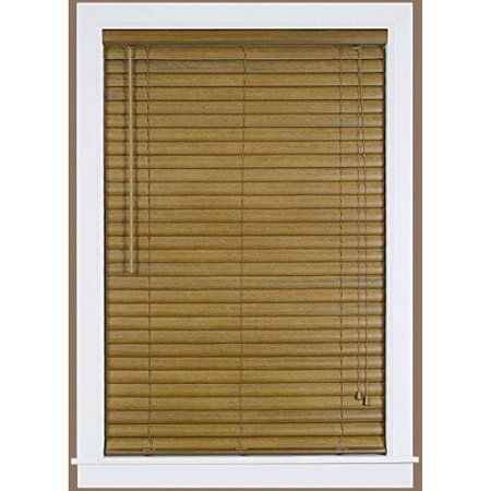 Luna 2 Inch Vinyl Venetian Blind With 2 Inch Valance Brown Products Blinds Vinyl Blinds Mini Blinds