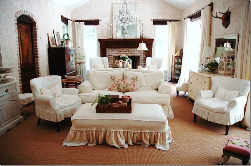 Slipcovers and seagrass one of my favorite looks Decor
