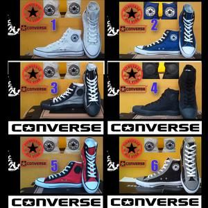 SEPATU CONVERSE ALL STAR HIGH + BOX GRADE ORI Stuff [+]  Stuff [+]