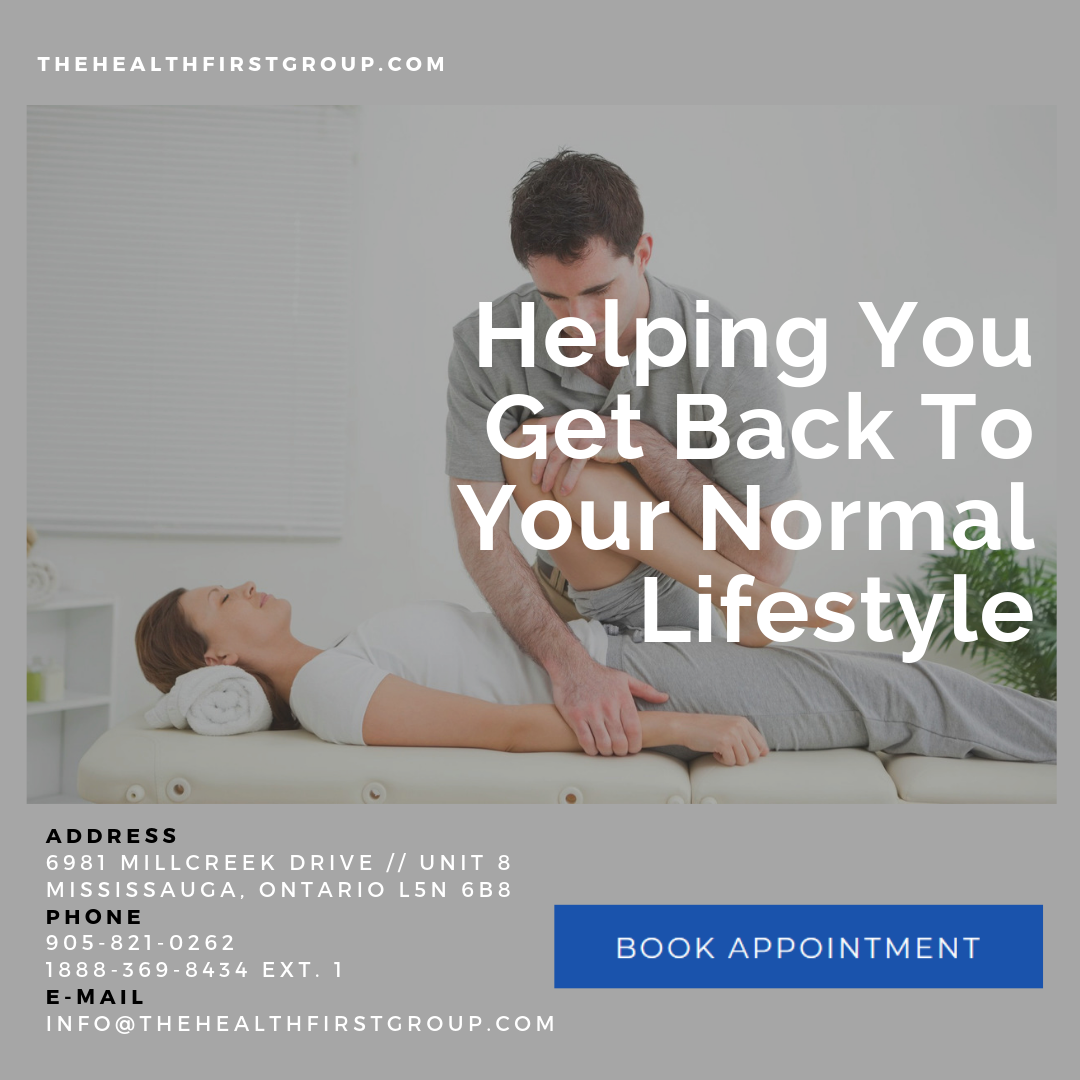 Mississauga Physiotherapy Clinic specializing in massage