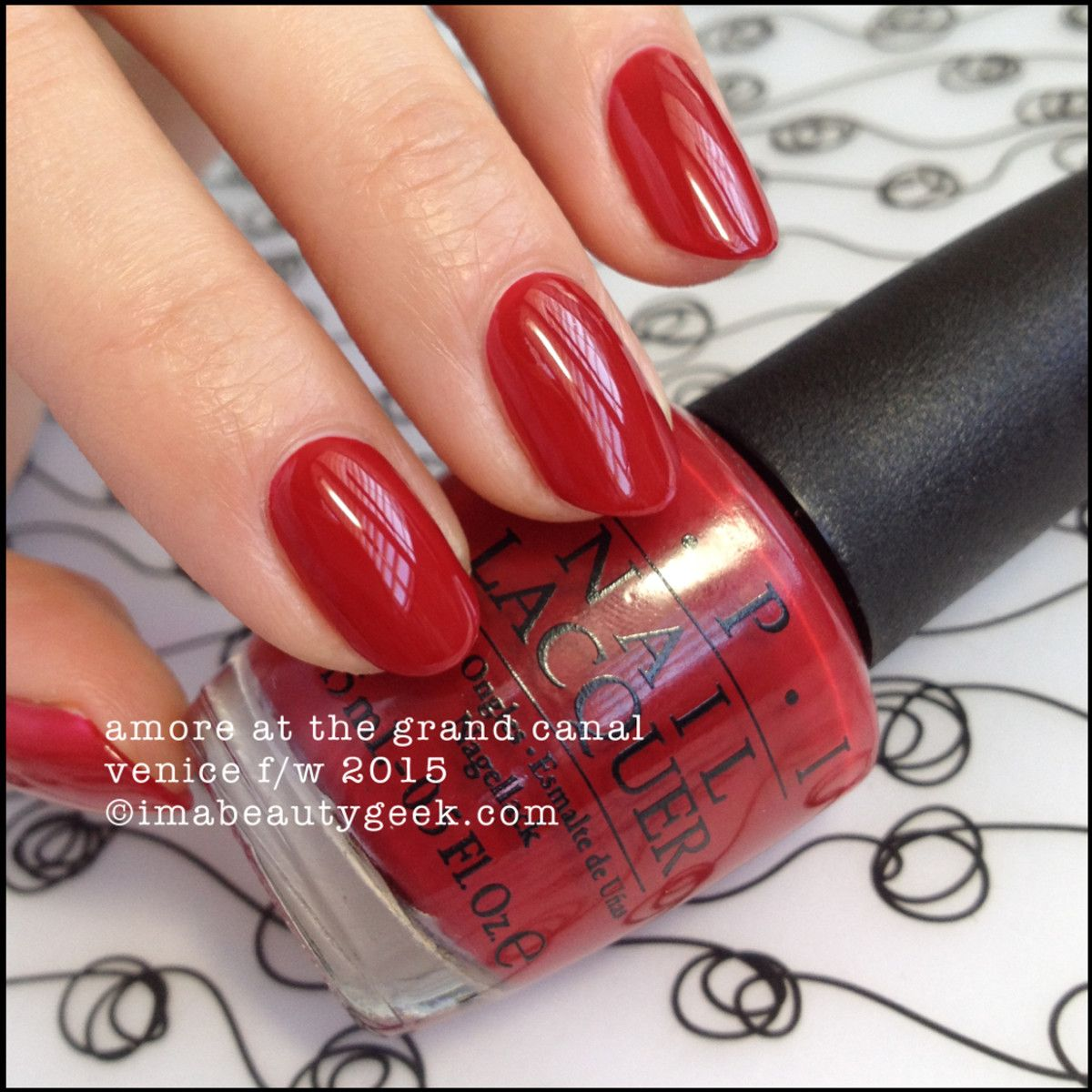OPI Amore at the Grand Canal – OPI Venice Collection 2015 | Your ...