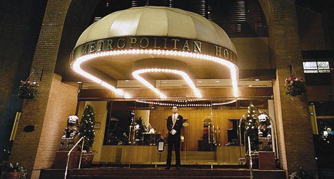 Metropolitan Hotel Vancouver, Vancouver, British Columbia, Canada...
