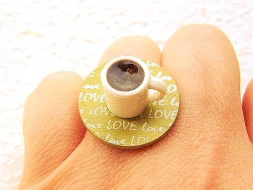 Coffee Lover Ring!