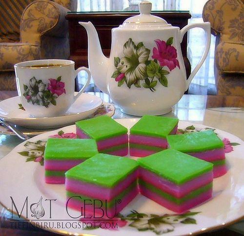 Kuih Lapis Tepung Beras Malay Desserts Desserts Dessert