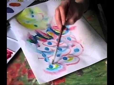 Peinture Intuitive En Aquarelle Peindre Avec Son Bebe