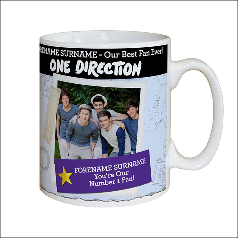 Personalised One Direction Mug | One direction | Pinterest | One ...