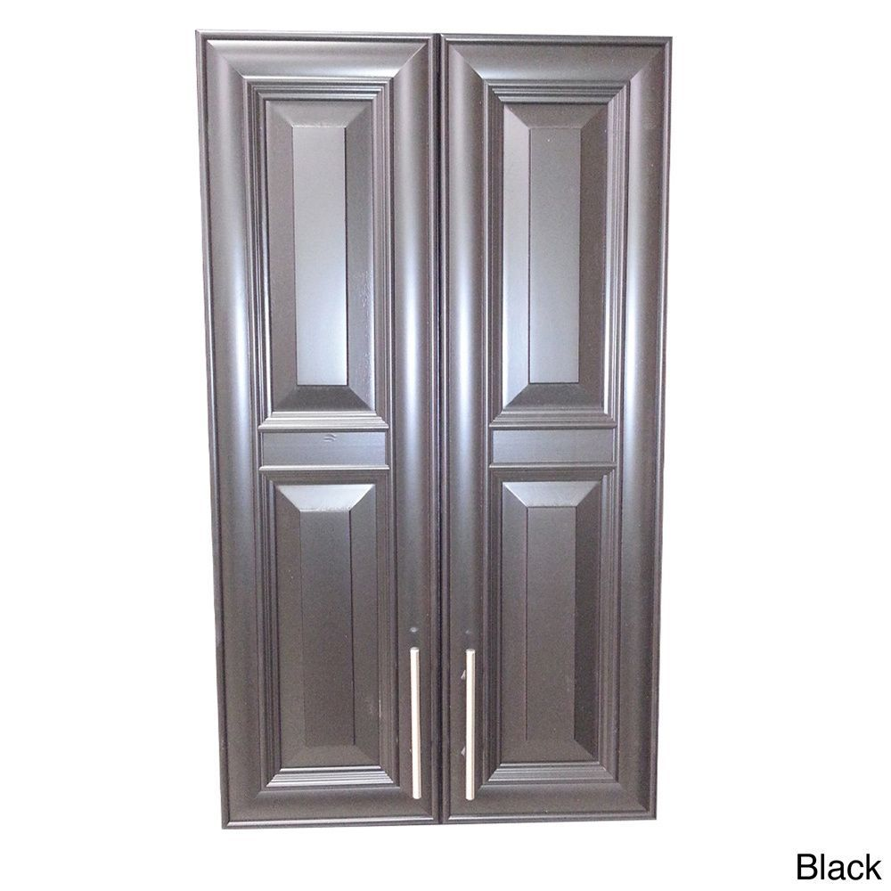 WG Wood Products Overton 47-inch High 2-door 2.5-inch Recessed ...