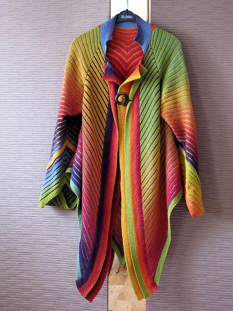 Ravelry: hianjas Rainbow Cardigan  OMG!!!