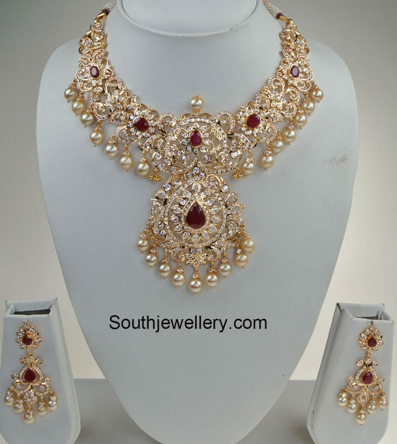 cz_diamond_imitation_necklace | Jewellery | Pinterest | Diamond ...