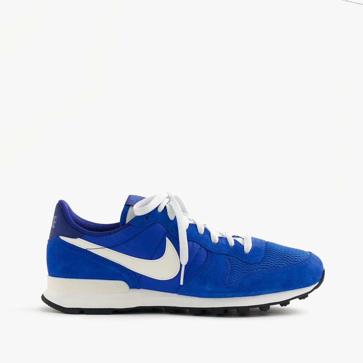 cheap for discount ebcbb dfc18 J.Crew Mens Nike Internationalist Mesh And Suede Sneakers In Royal (Size  10.5 M)