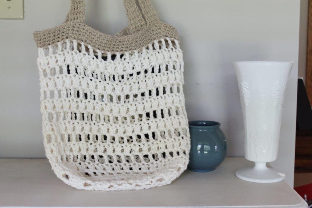 Crochet Market Tote Bag | Gehäkelte taschen und Häkeln