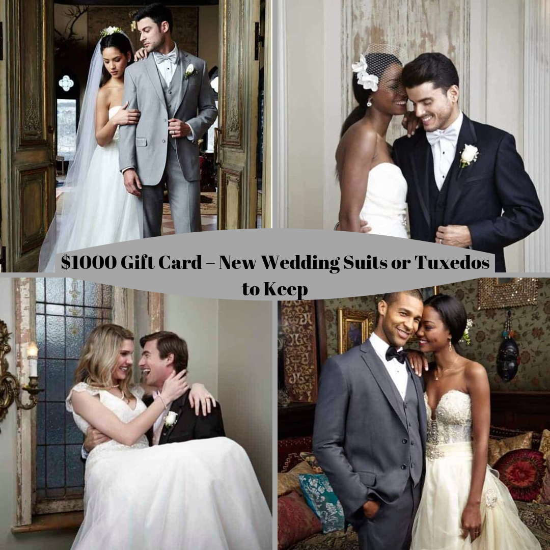 1000 Gift Card Wedding Suits Wedding Prizes Gift Card