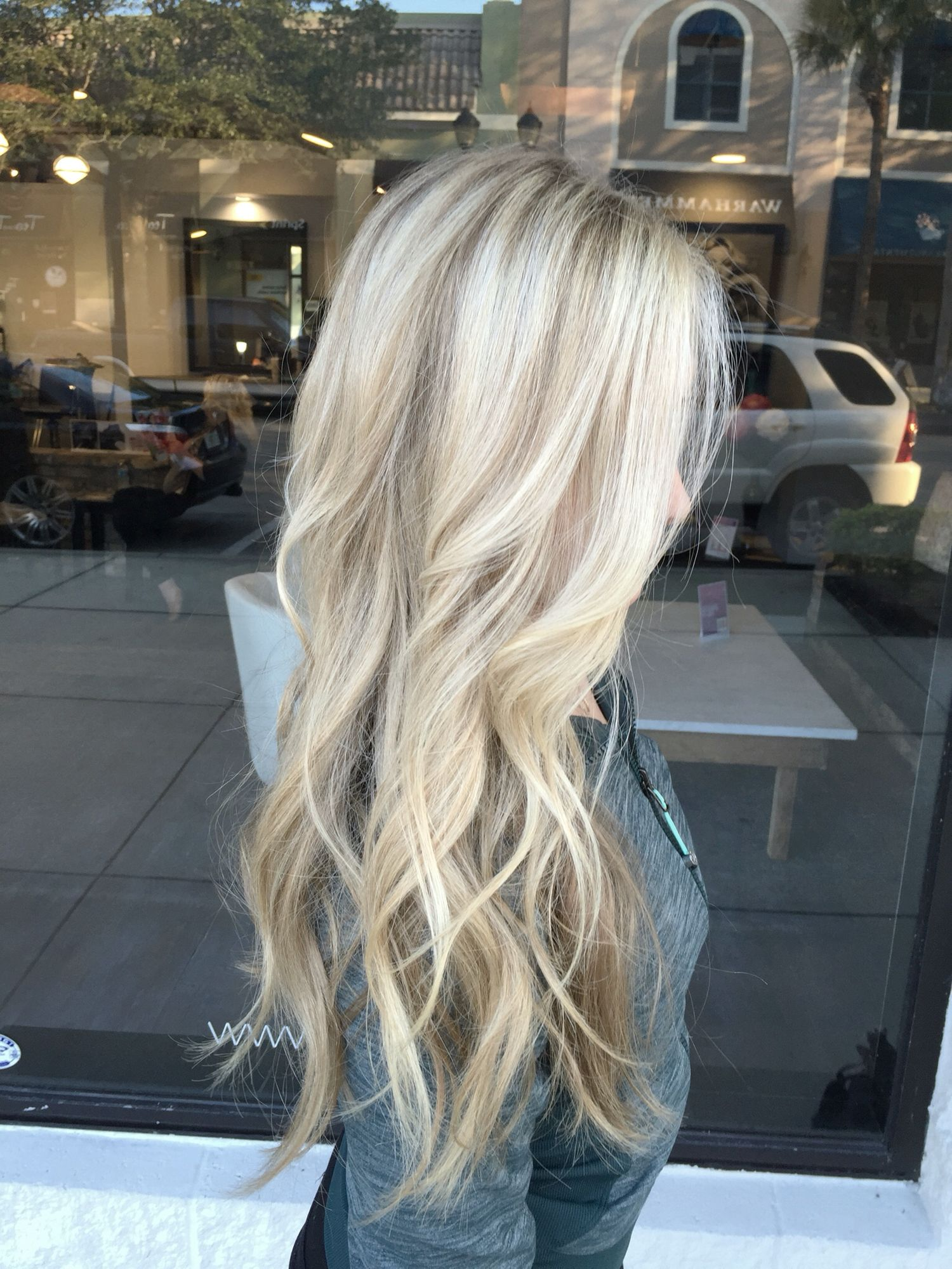 Long blonde hair Hurrrrr Pinterest