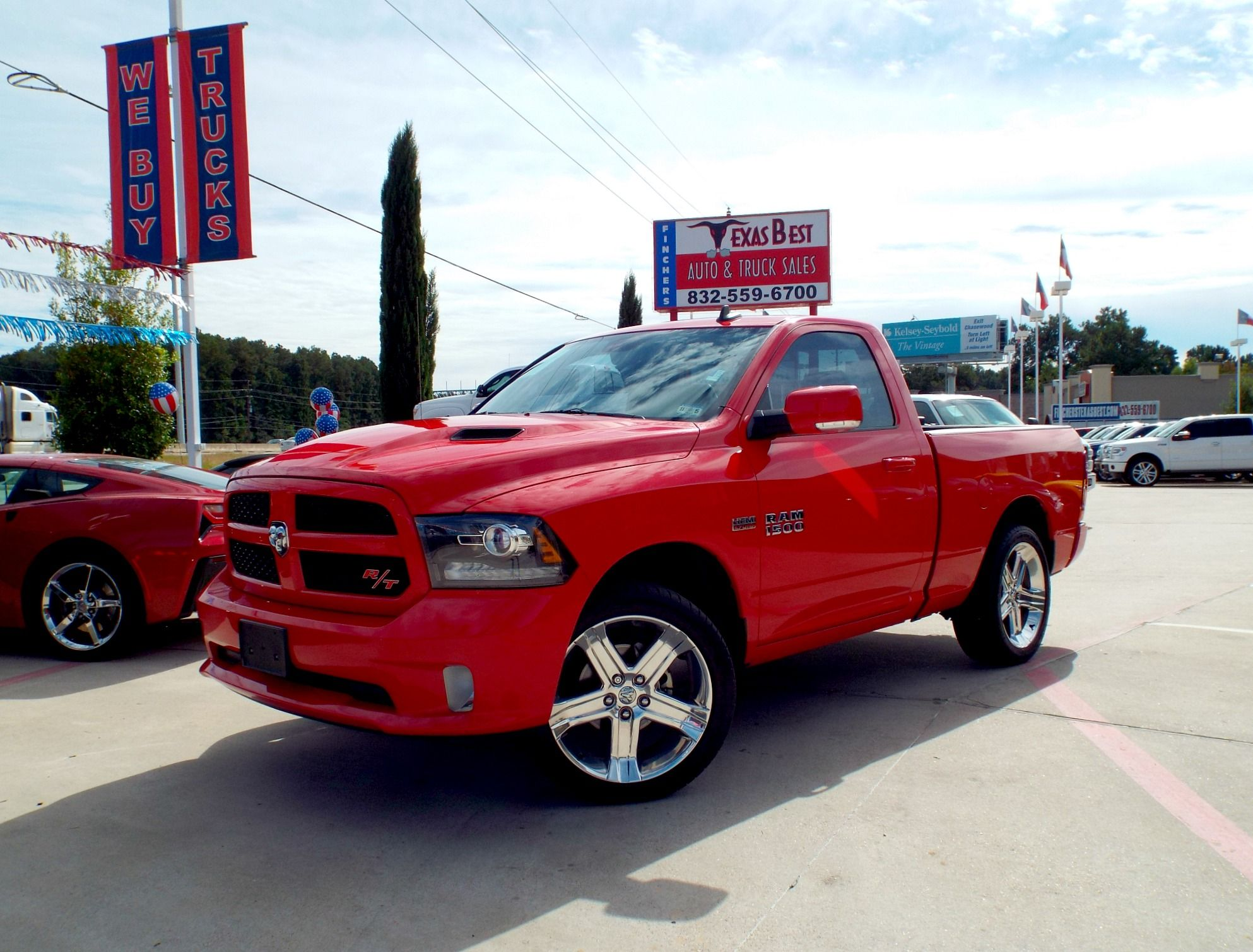 can you picture yourself driving this 2014 dodge ram 1500 r t regular cab sport truck it has. Black Bedroom Furniture Sets. Home Design Ideas