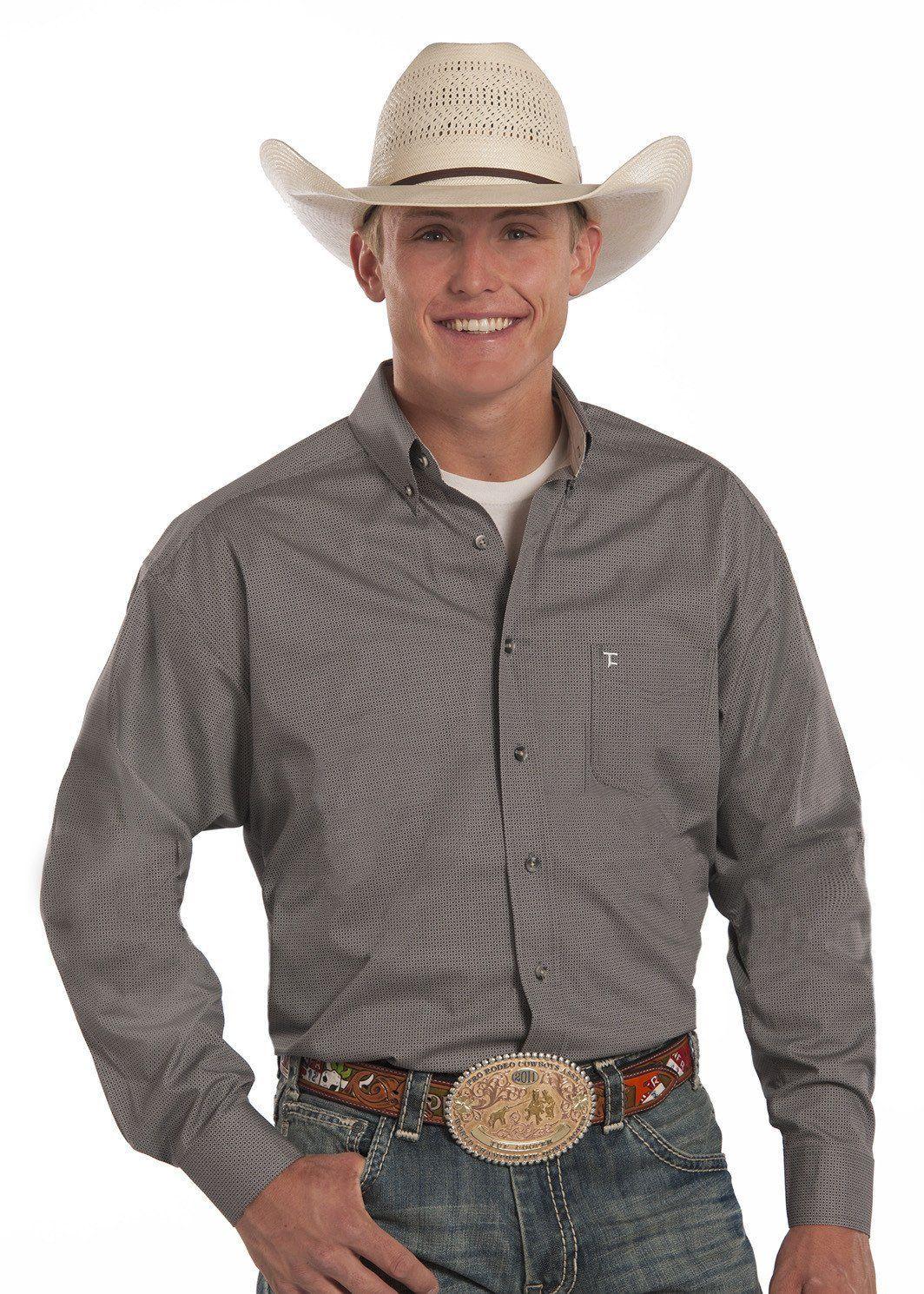 3e5f0aab0 Panhandle Slim Tuf Cooper Western Shirt [TCD3104]   Men's Western ...