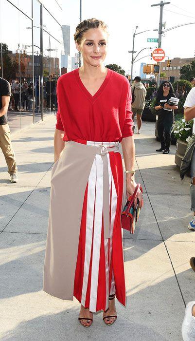 1990ce7b20 El flechazo de Olivia Palermo  la falda con la que conseguir 2 looks ...