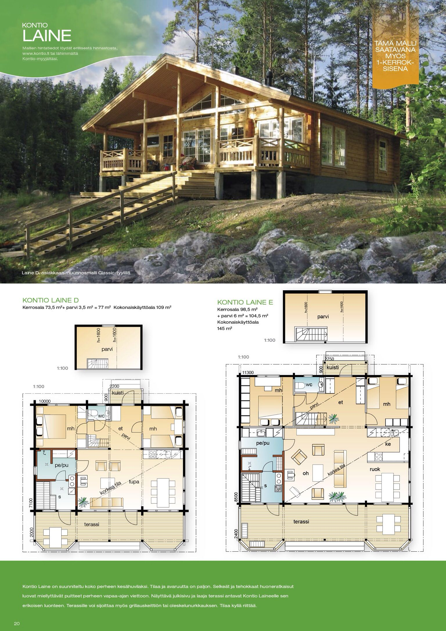 House Plan W3938 V2 Detail From Drummondhouseplans Com: Pin By Kontio Log Houses On KONTİO Kütük Ev In 2019