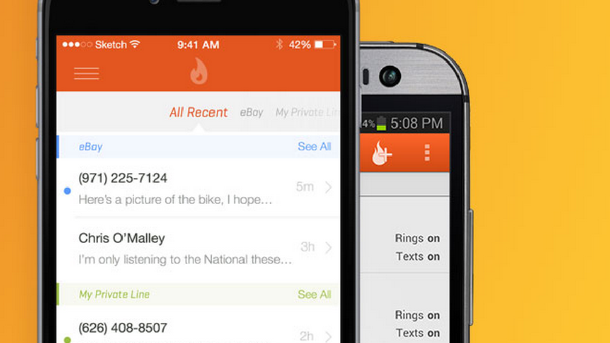 Burner phone? There's an app for that, and it's earning