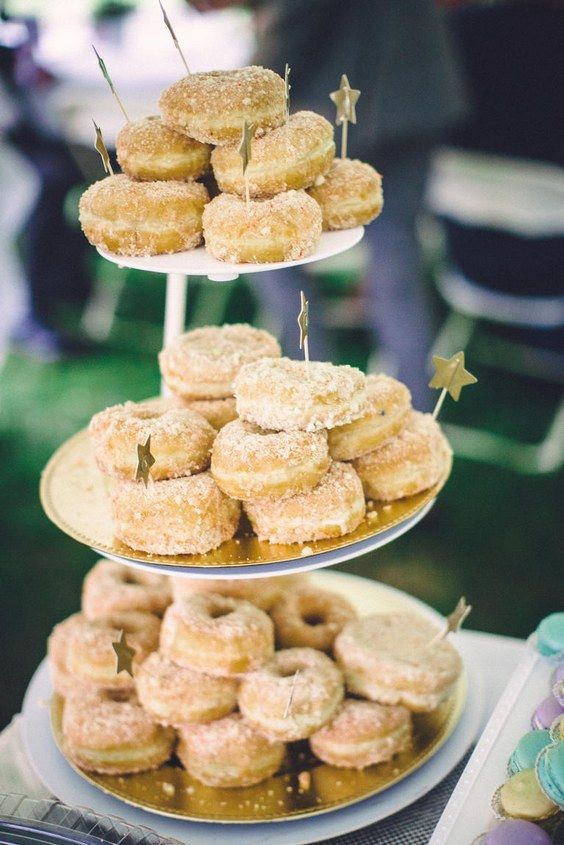 100 Scrumptious Wedding Donuts Displays & Ideas   Wedding donuts ...