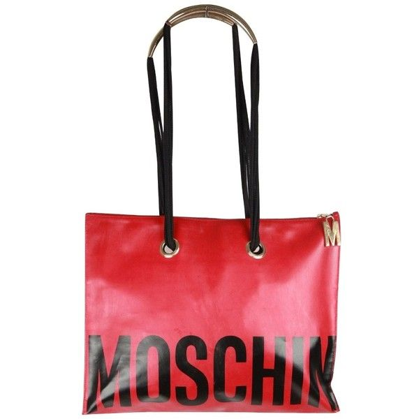 Pre-owned - Cloth tote Moschino YTCivE