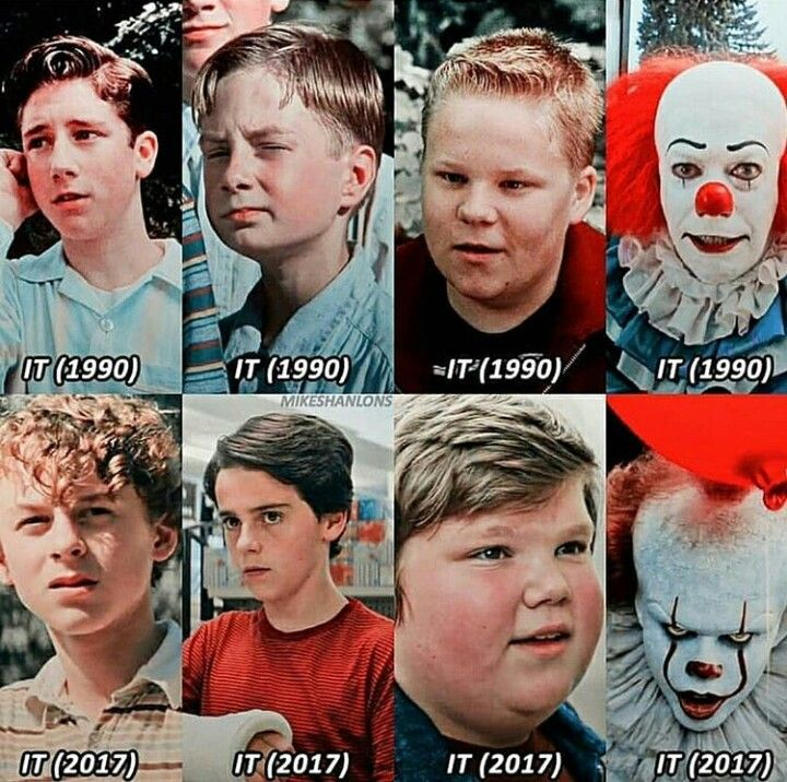 1990. 2017. IT. | Scary movies, It movie cast, Horror films