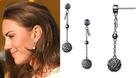 Kate Links London Bubble Stiletto Earrings Canadian Heritage