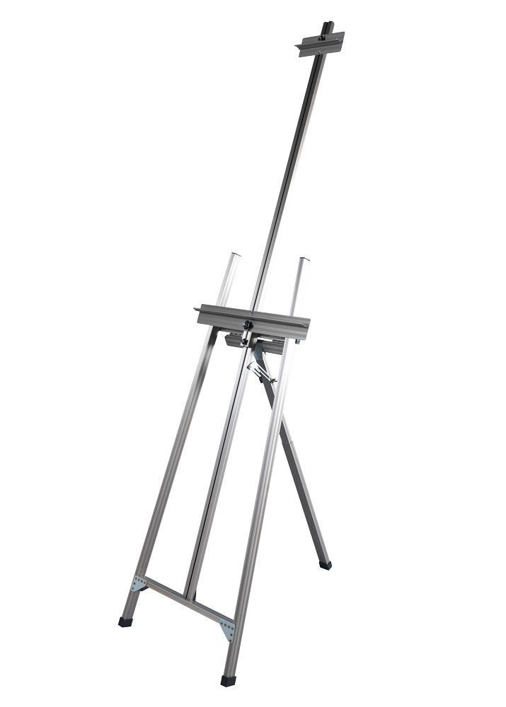Ambiente Classic A-Frame Artist Easel in Natural Aluminum