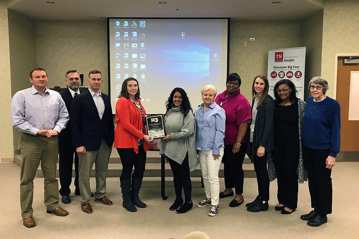 Montgomery County Health Council earns Appreciation Award