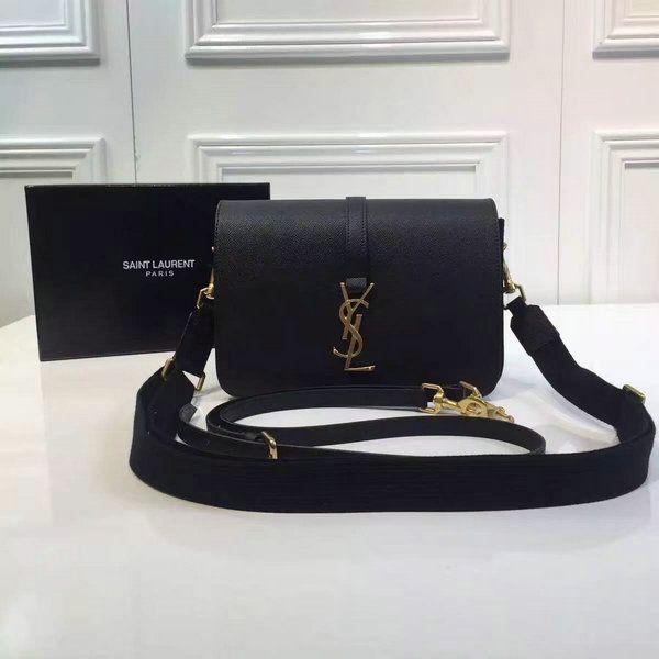 2016 A W YSL Bag Cheap Sale-Saint Laurent Monogram Universite Bag in Black… eae5d48fde