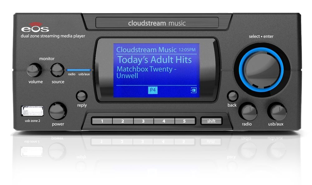Intellitouch ITCEOSP500 Dual Zone Streaming Media Player