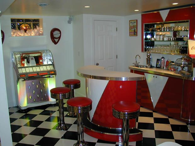 A 50 39 S 60 39 S Style Retro Room Would Make An Awesome