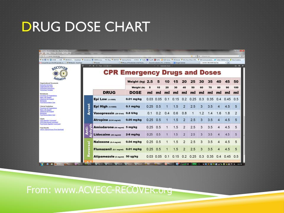 43 Drug Dose Chart Veterinary Practice Drugs Chart