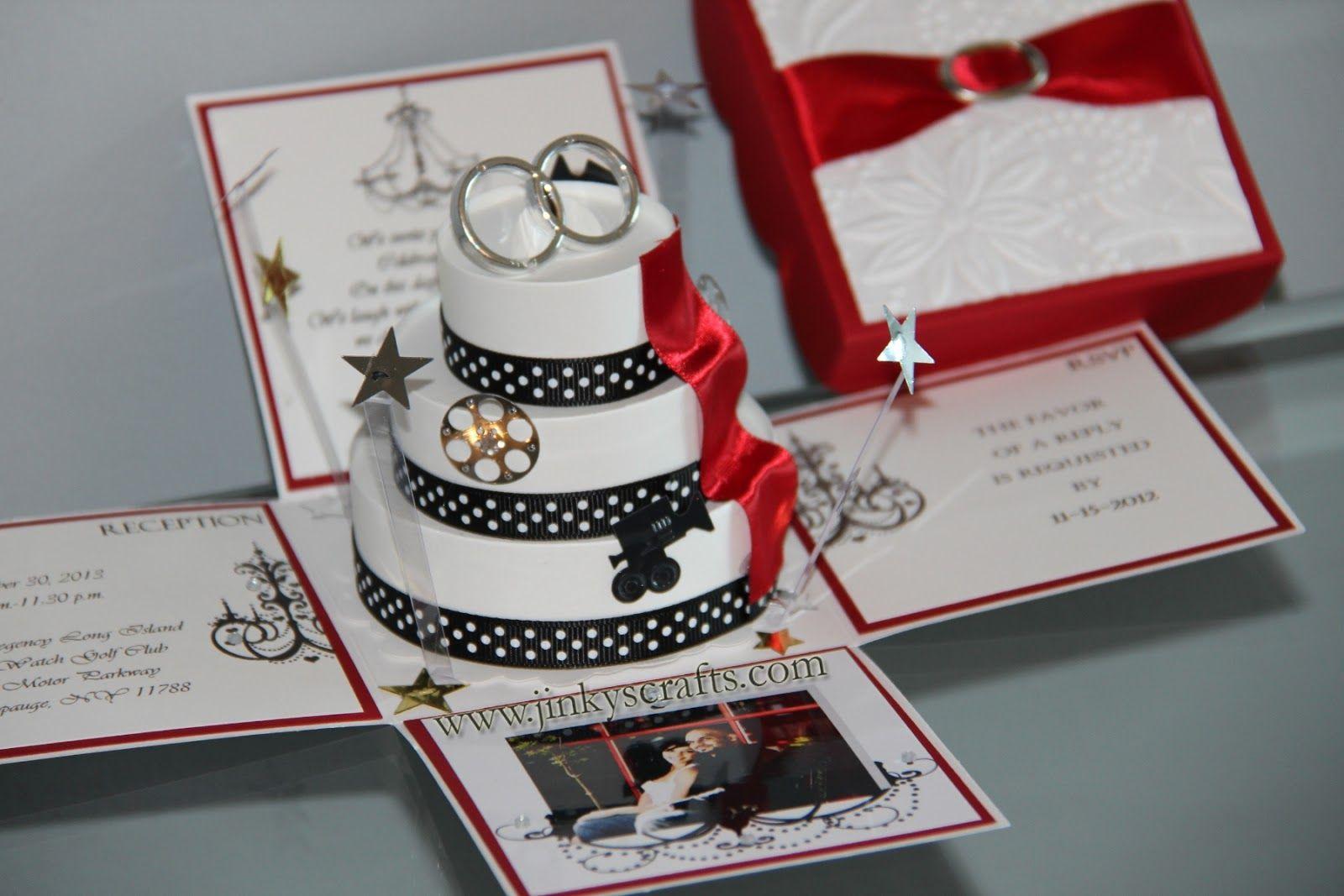 Boxed wedding invite   Wedding ideas   Pinterest   Wedding and Weddings