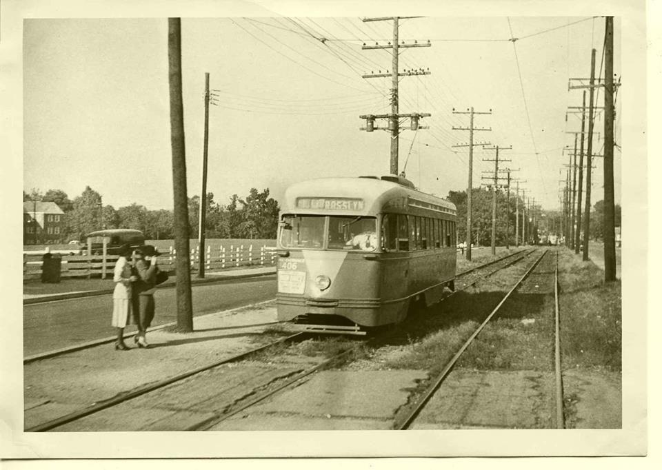 Capital Transit PCC on Kenilworth Avenue NE Destination