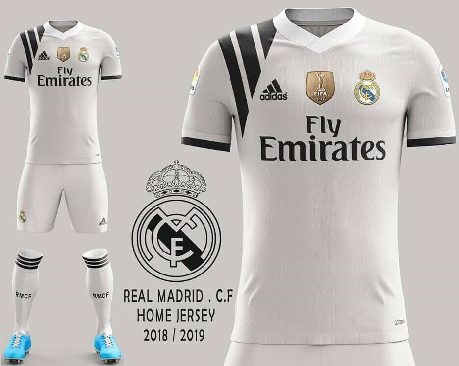 3bfd7923a Real Madrid fantasy concept jit Football Kits