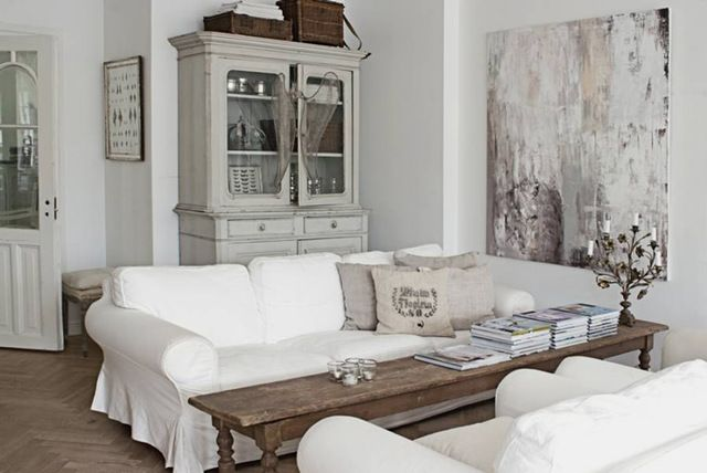 Shabby Chic Living Room | Should Use Only Two Words To Describe This Shabby  Chic Living