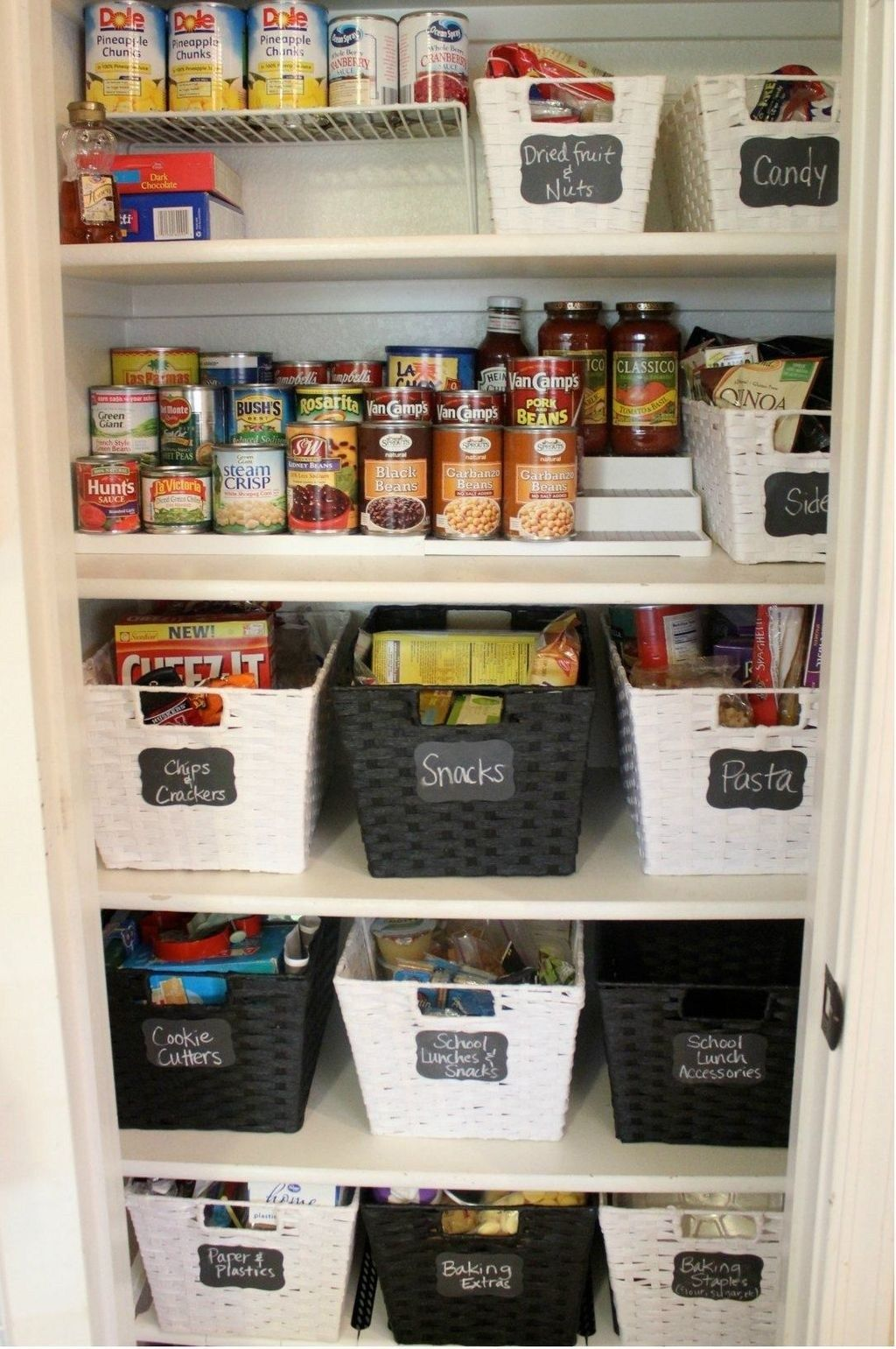 49 Nice Pantry Organization Ideas In 2020 With Images Kitchen