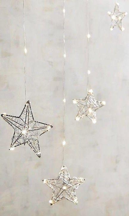 Winter Holidays Decor In Gray Silver Hanging Stars Fond Ecran Noel Fond D Ecran Telephone Fond De Noel