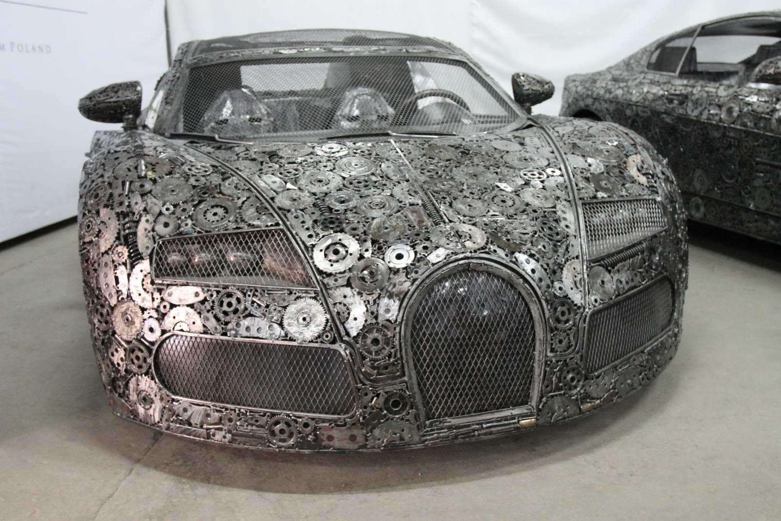 Artists Recycle Scrap Metal Into Supercars Super Cars Car Super Sport Cars