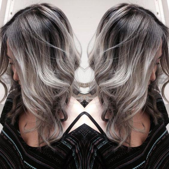Ombré hair sur une base brune  54 photos absolument