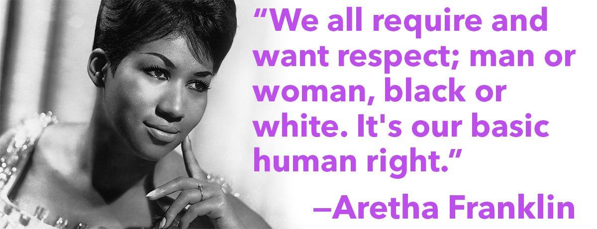 Image result for aretha franklin quotes