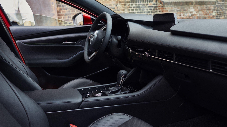 Mazda3 Moves Up The Premium Ladder With Gorgeous Interior New Materials Top Speed Mazda 3 Mazda 3 Hatchback Hatchback