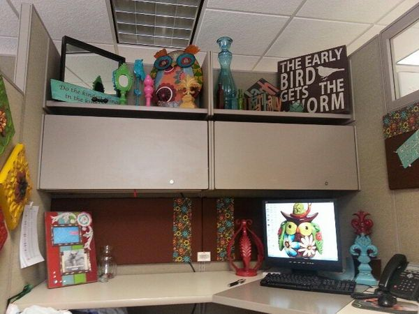 Cubicle decoration is a fascinating and fun way to put Cubicle desk decorating ideas