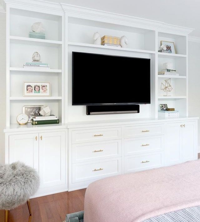 Shallow Tv Builtins Bedroom Wall Units Built In Bedroom