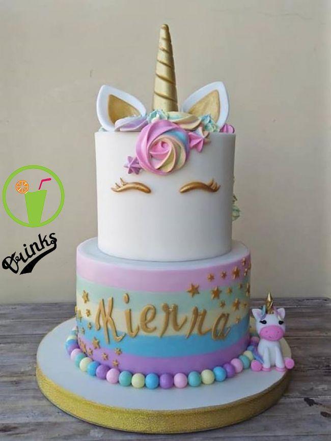 Awesome Unicorn Cake Evies 4Th Birthday Party Ideas In 2019 Pinterest Funny Birthday Cards Online Unhofree Goldxyz